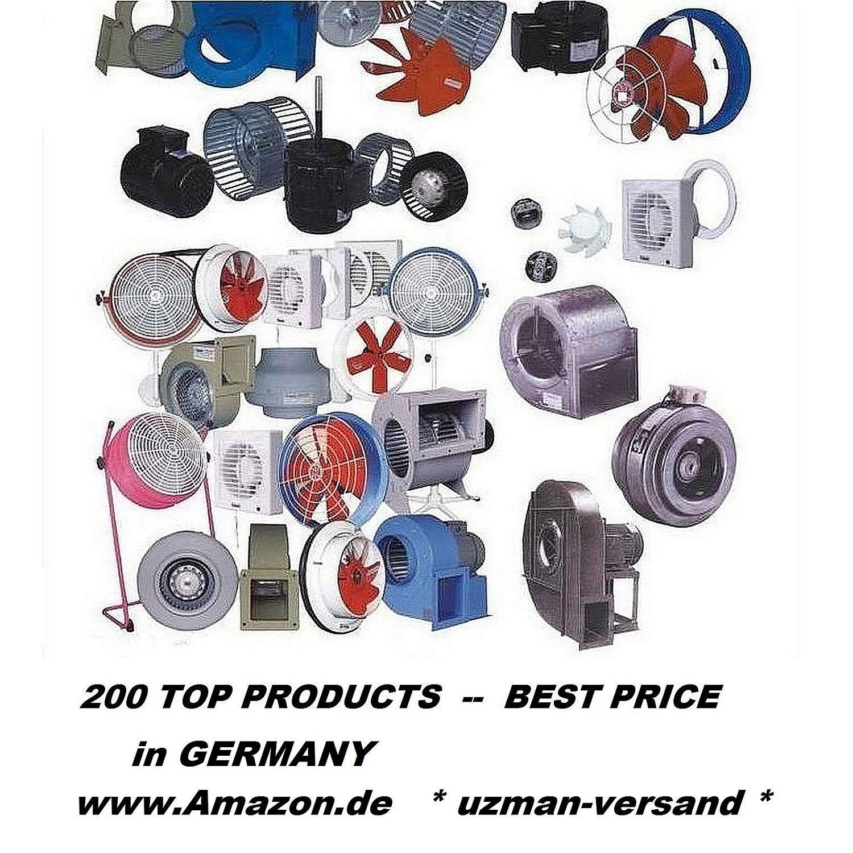 abluftventilator Axialventilator Wandventilator Uzman-Versand 600mm Industrieventilator