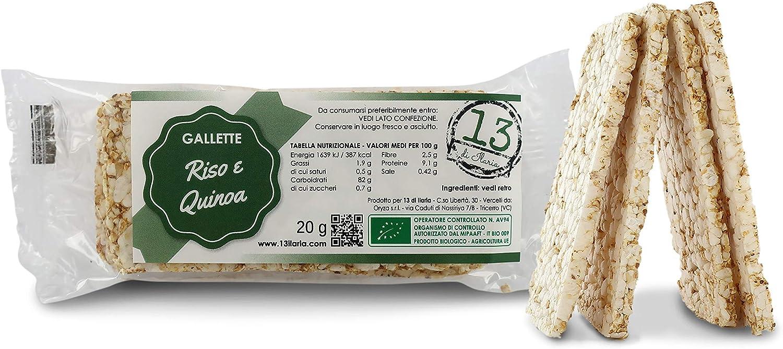 13 di Ilaria Tortitas de arroz y Quinoa 100% Bio - 20 ...