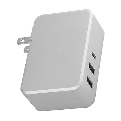 Amazon.com: iHome USB tipo C PD 45 W 3 puertos Rapid ...