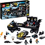 LEGO DC Super Heroes Mobile Bat Base 76160 Batman set with 4 vehicles and 6 minifigures, Toy for kids 8+ years (743…
