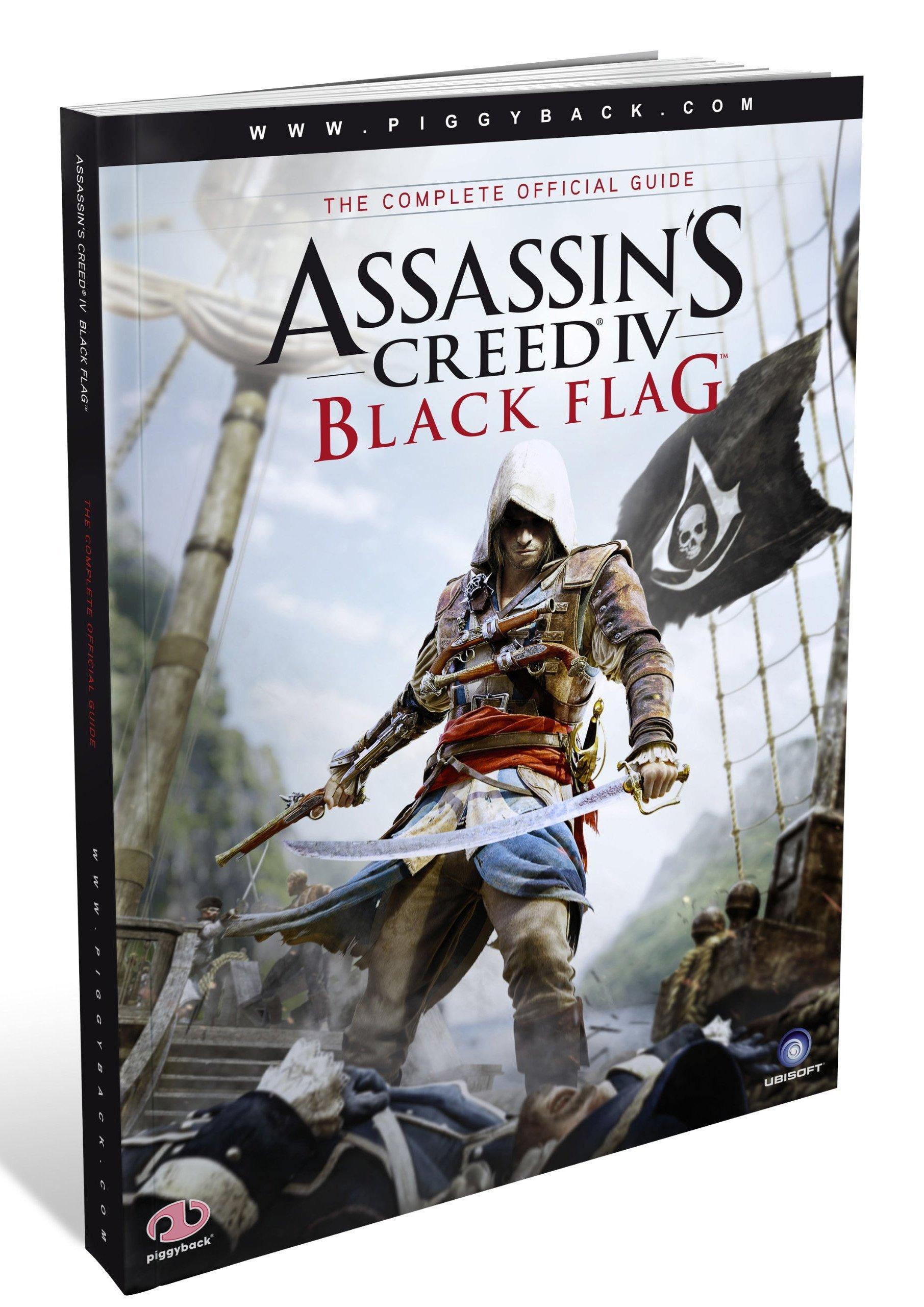 Guía Assassin's Creed IV. Black Flag Tapa blanda – 29 oct 2013 Piggyback Vv.Aa. 190817241X arte