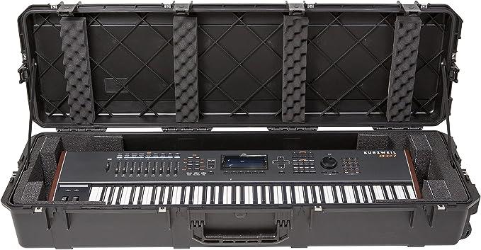 SKB iSeries - Maleta para teclado de 88 teclas resistente al ...