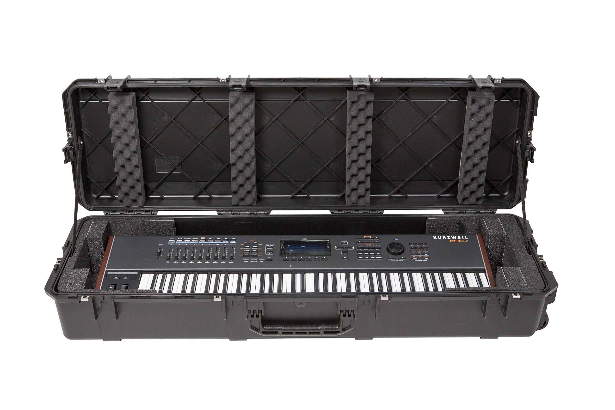 SKB 3i-5616-KBD Piano or Keyboard Case, Black