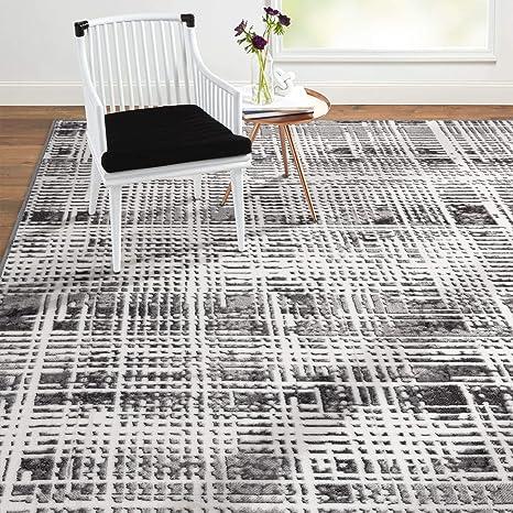 Home Dynamix Byron Elaine Transitional Abstract Area Rug 5 2 X7 2 Gray Evoke Bliss Furniture Decor