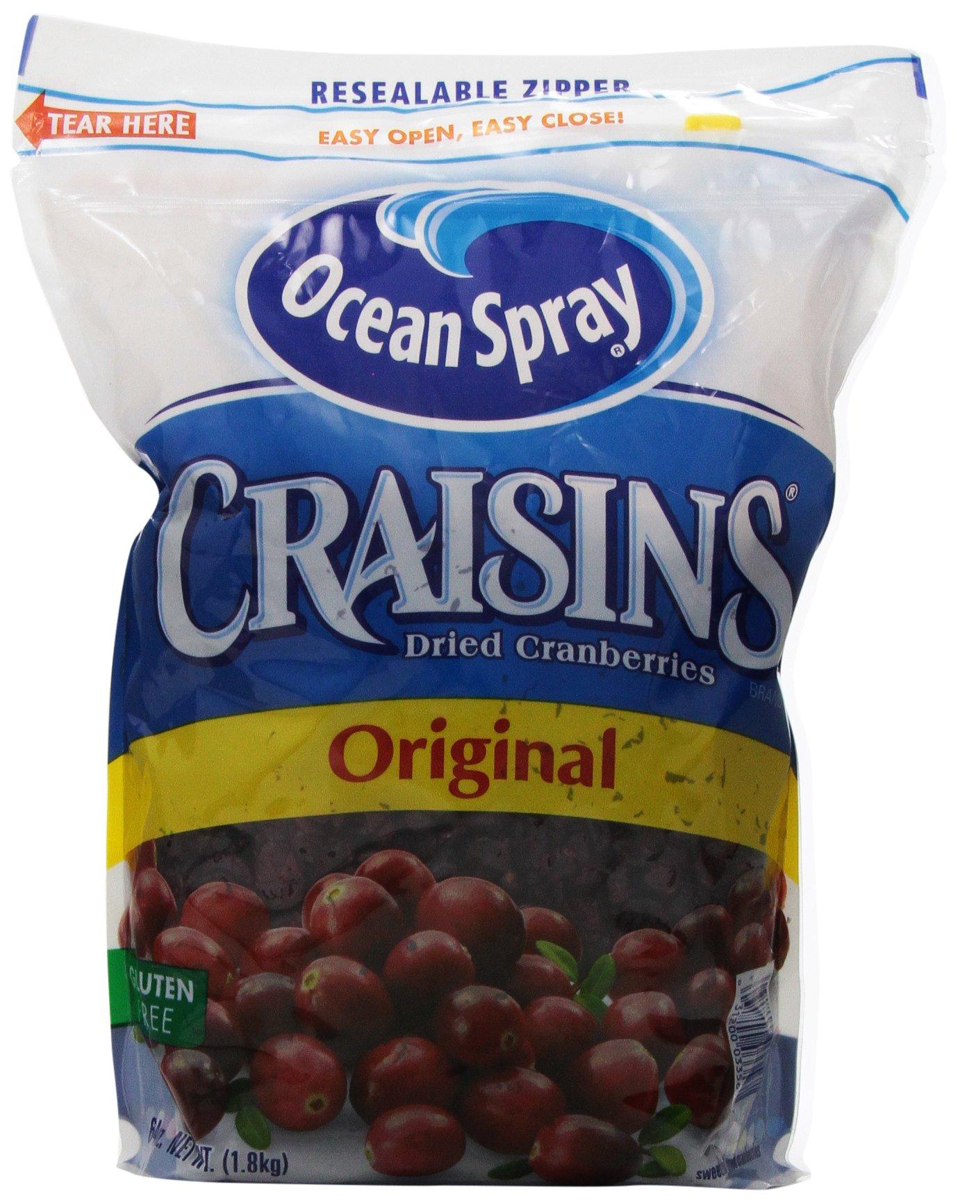 Ocean Spray Craisins Cranberry, 64 oz