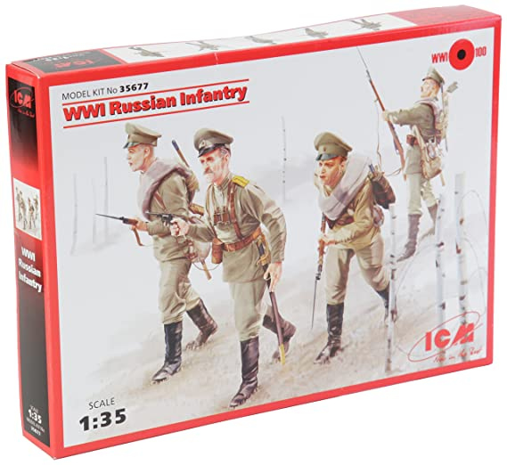 ICM Models WWI Russian Infantry Kit
