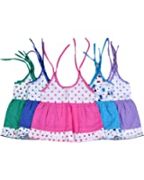Sathiyas Baby Girls Dresses (Pack of 5) (asvinf34_Multicolour_0 - 6 Months)