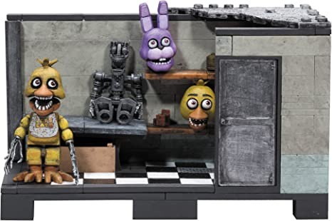 McFarlane Toys Five Nights at FreddyS Backstage Classic Series Medium Construction Set: Amazon.es: Juguetes y juegos