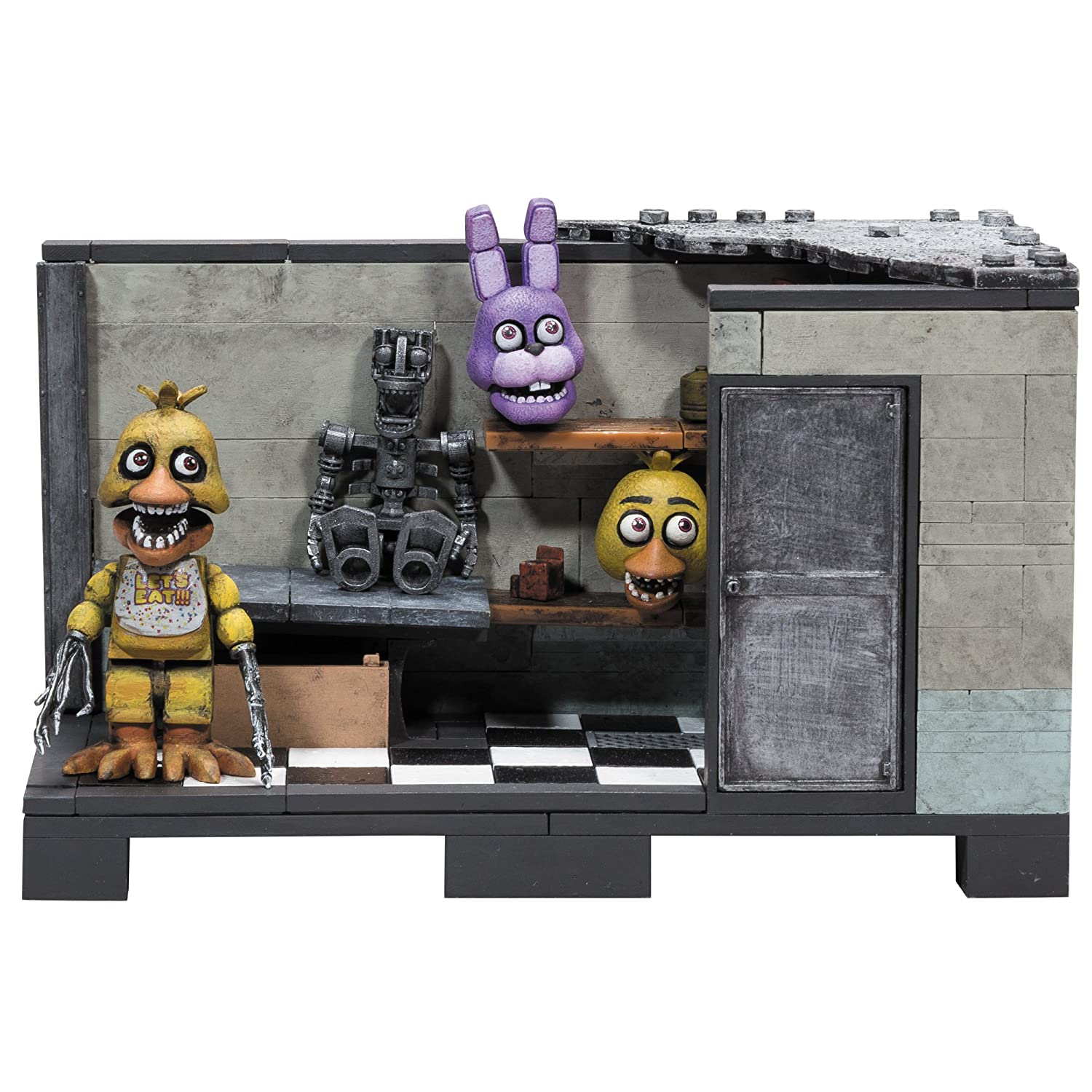 McFarlane Toys Five Nights at Freddy's Backstage 'Classic Series' Medium Construction Set