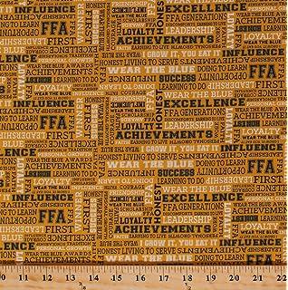 Amazoncom 35 X 44 Panel Ffa Future Farmers Of America Forever