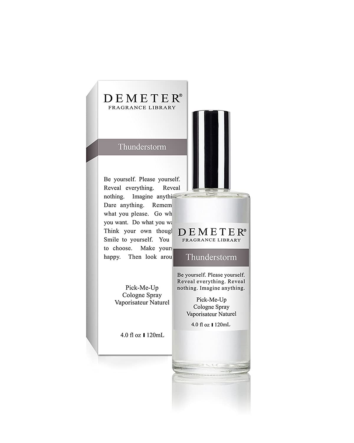 Demeter Thunderstorm by for Women Pick-Me Up Cologne Spray, 4.0-Ounce W-3322