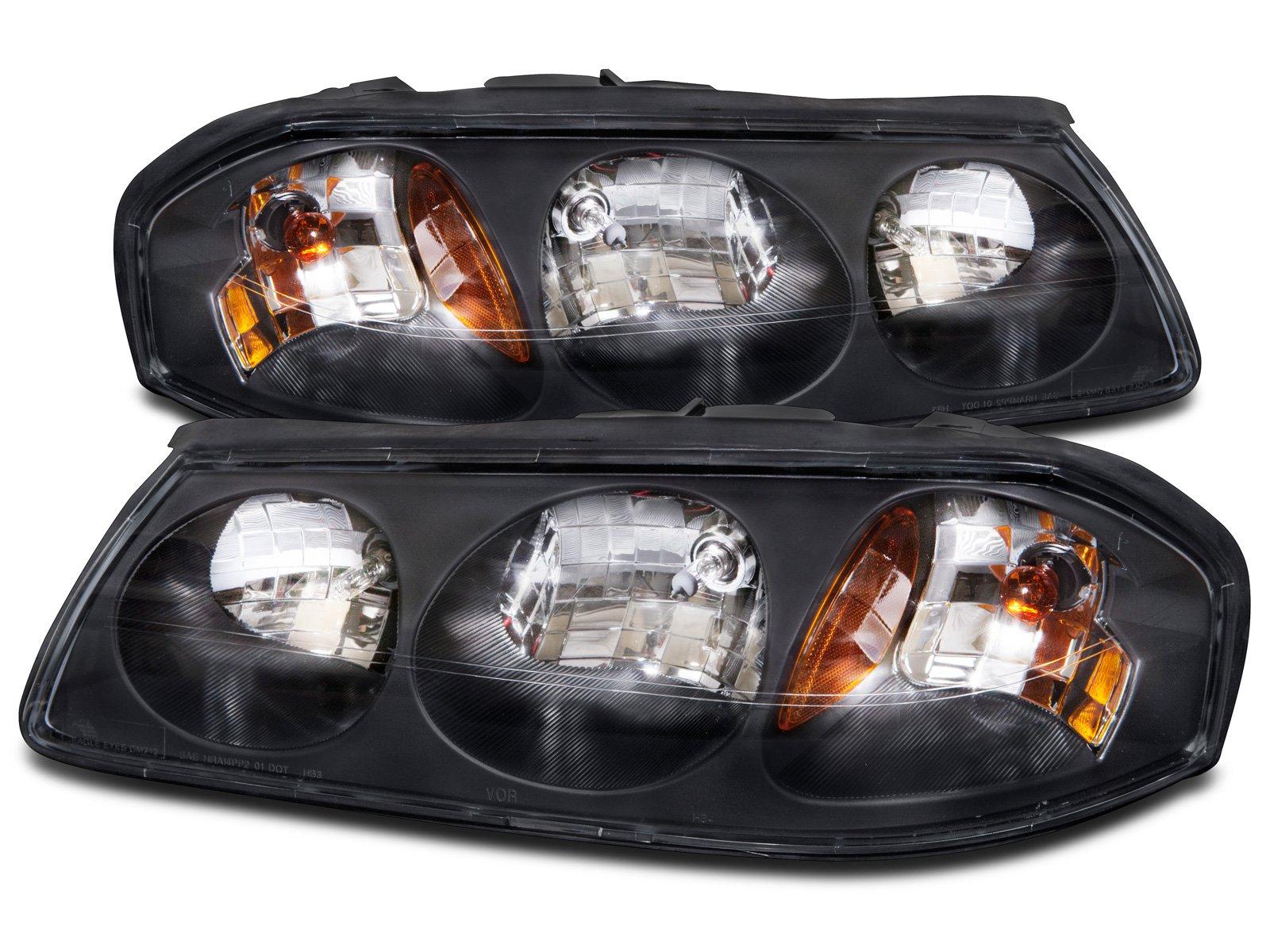 HEADLIGHTSDEPOT RV Headlights Compatible with Winnebago Adventurer 03-05 Includes Left Driver and Right Passenger Side Headlamps