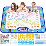 Jasonwell Aqua Magic Doodle Mat 40 X 32 Inches Extra Large Water Drawing Doodling Mat Coloring Mat Educational Toys Gifts for