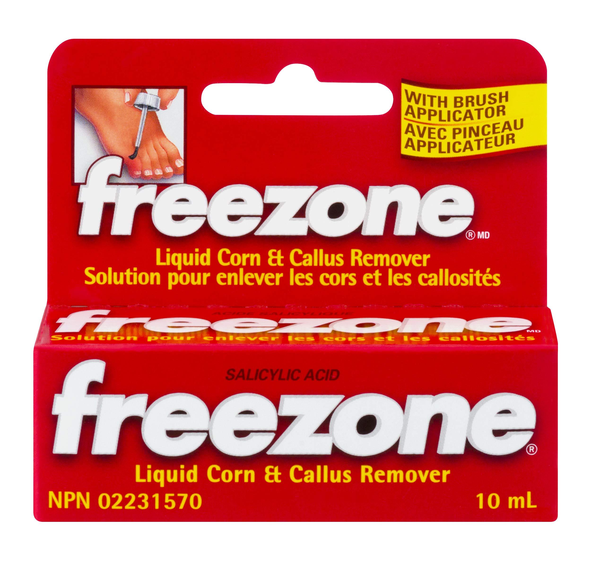 Freezone Corn and Callus Remover  Maximum Strength Salicylic Acid   0.31 oz   Pack of 4