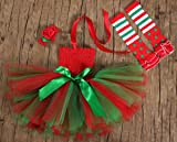 Tutu Dreams My First Christmas Baby Girls Outfit