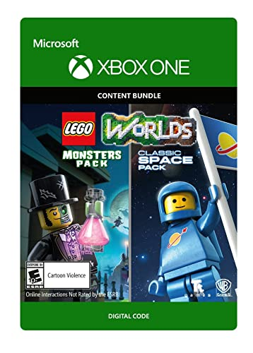 Amazon.com: Lego Worlds Classic Space Pack And Monsters Pack Bundle - Xbox One [Digital Code]: Video Games