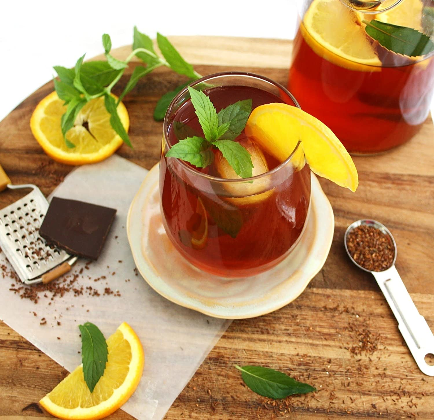 100/% Natural South African Red Bush Tea Rich in Vitamins and Antioxidants 100g Laager Rooibos Loose Leaf Tea 4 oz