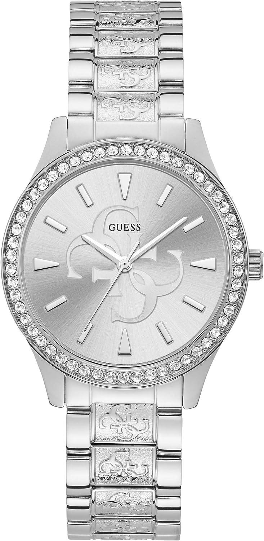 Reloj Guess Anna W1280L1 para Mujer, Color Plateado, Caja 38 mm