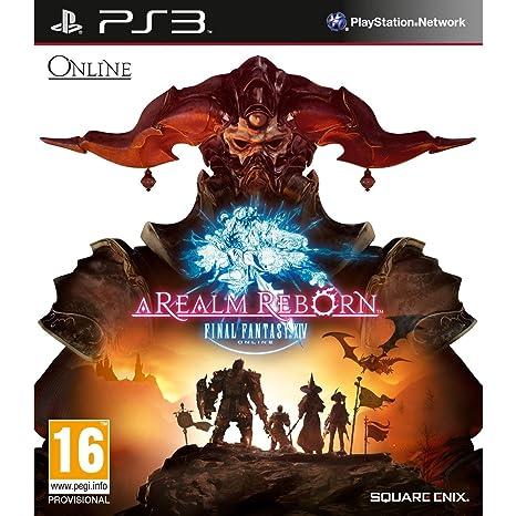 Final Fantasy XIV: A Realm Reborn (PS3): Amazon in: Video Games