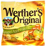 Werthers Caramel Apple Filled Hard Candies (2.65 Oz) 6 Bags