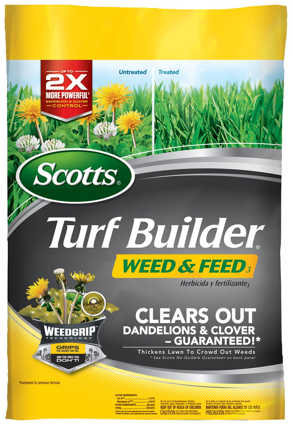 Scotts Turf Builder Weed and Feed (Not Sold in Pinellas County, FL)