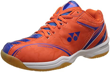 18e7cef2dfd2 Yonex SHB 300EX Badminton Shoes Orange (UK 7)  Amazon.in  Sports ...