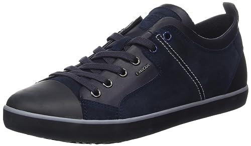Geox U Smart B, Zapatillas para Hombre, Azul (Navy), 43 EU