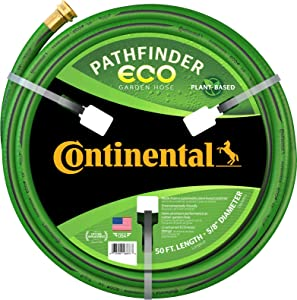 """Continental Pathfinder ECO Garden Hose 5/8"""" x 50' Male x Female GHT"""
