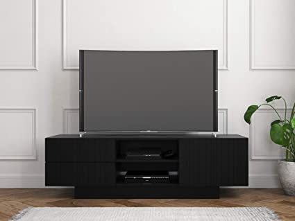 Amazon Com Nexera 115306 Galleri Tv Stand 60 Inch Black Home