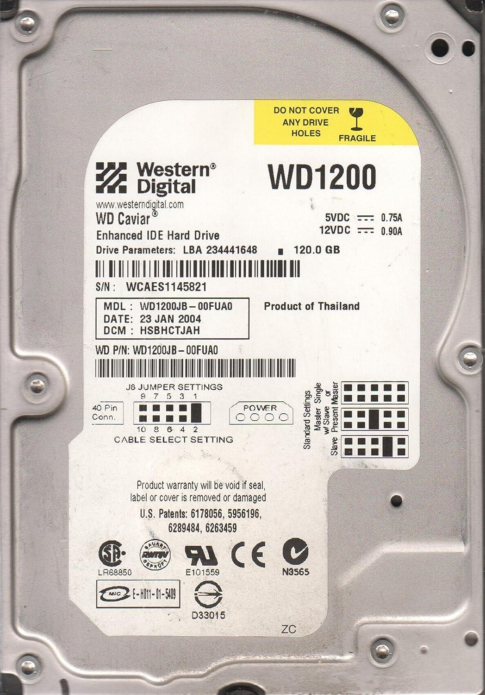 WESTERN DIGITAL WD1200JB-00FUA0 HARD DRIVE 120.0GB