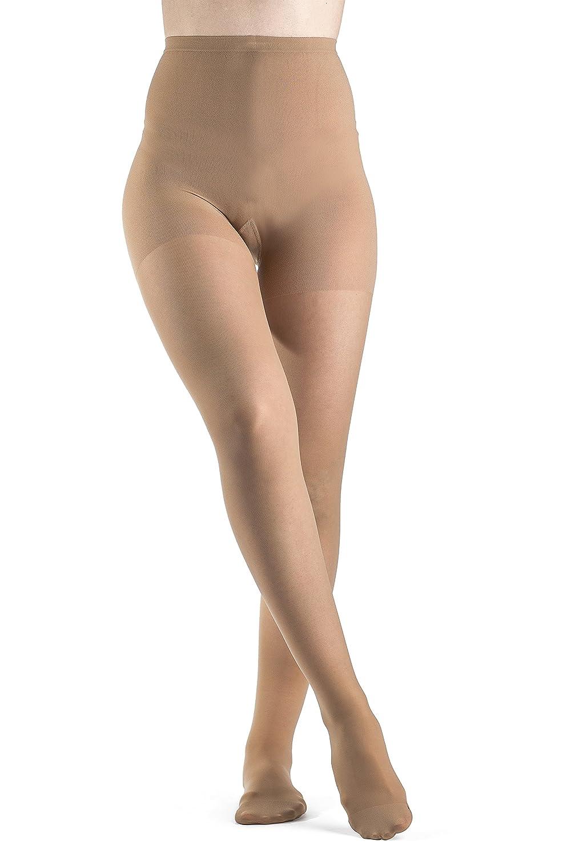 Sigvaris EverSheer 781PMLW36 15-20 Mmhg Closed Toe Medium Long Panty Hose For Women, Suntan by Sigvaris B0053V3DQ4