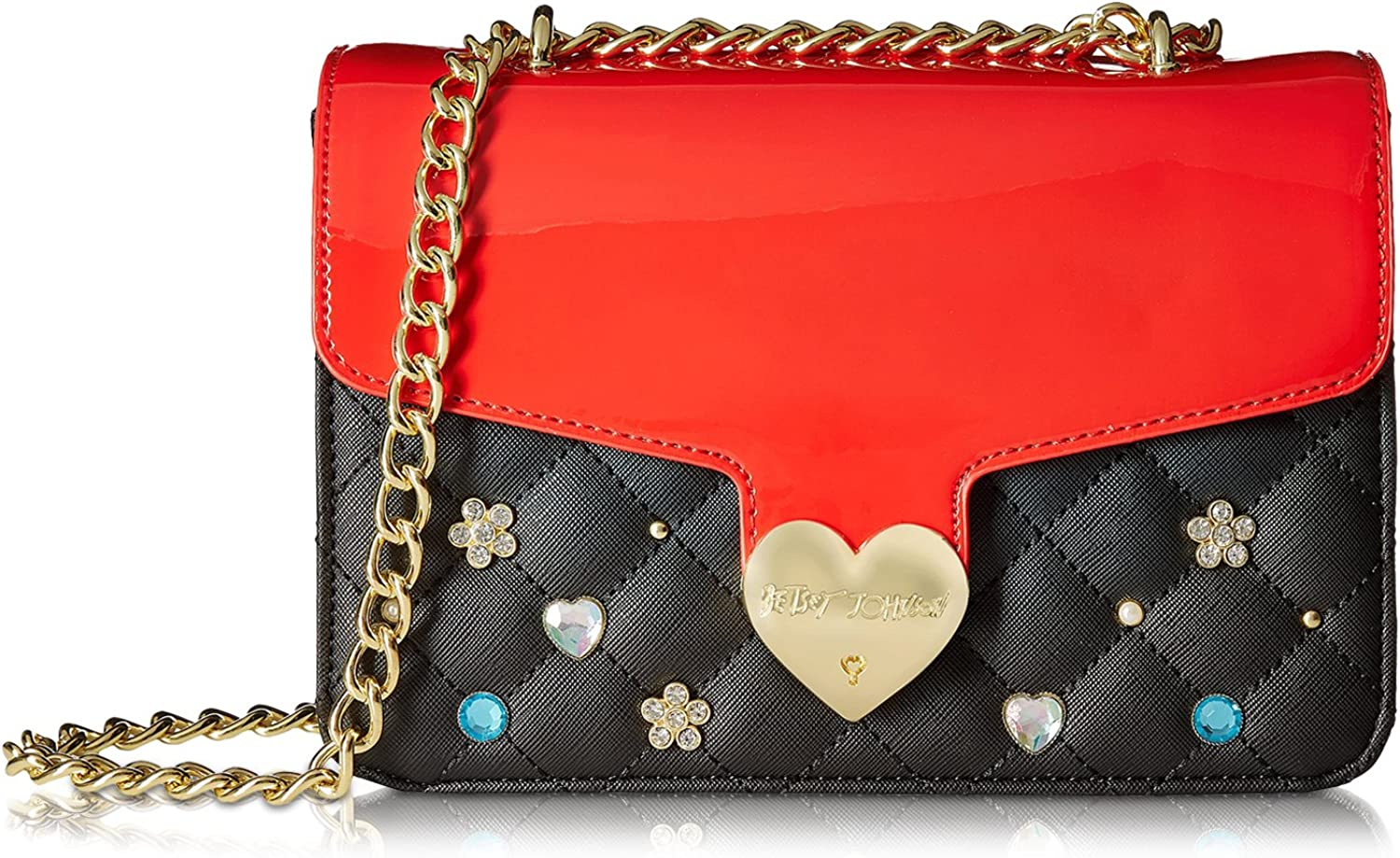 Betsey Johnson Quilted...