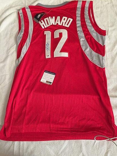 a6646c5fbaf3a Dwight Howard Autographed Signed Autograph Adidas Rockets Jersey PSA ...