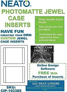 amazon com memorex jewel case inserts 50 pack home audio theater