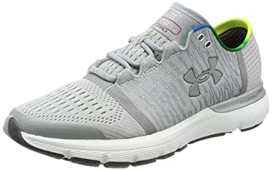 Under Armour Men's Speedform Gemini 3 GR Record Overcast Gray/Lime  Light/Msv Athletic