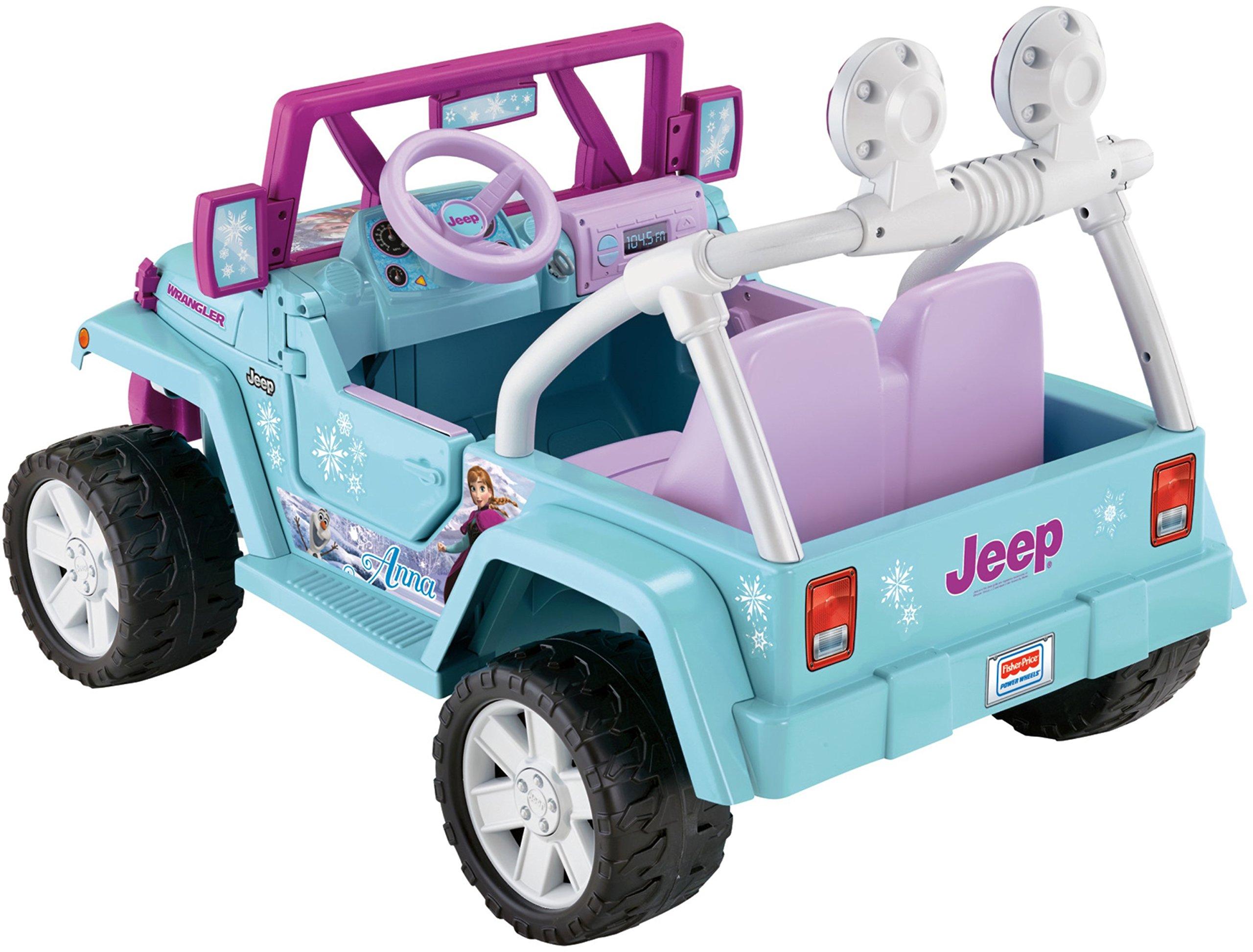 Power Wheels Disney Frozen Jeep Wrangler by Fisher-Price (Image #7)