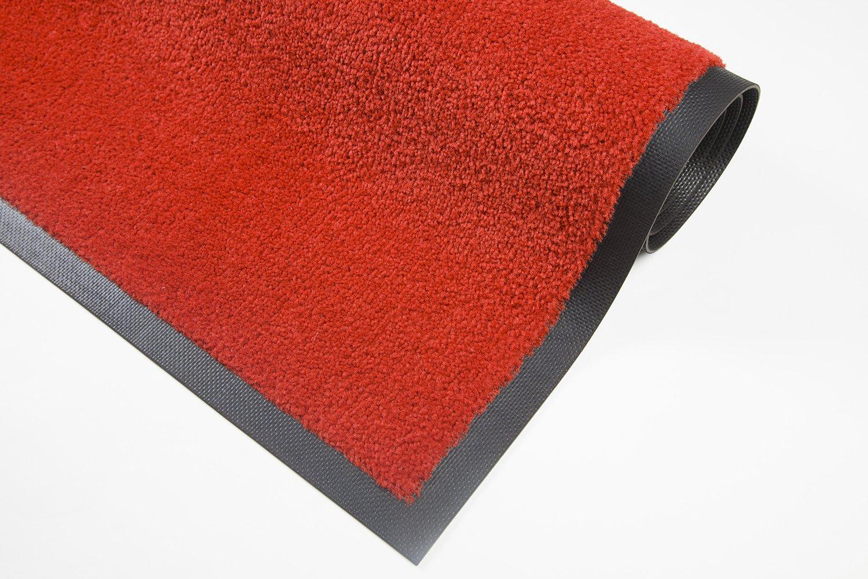 Extra starke waschbare waschbare waschbare premium Schmutzfangmatte – für Industrie, Gewerbe, Geschäft, Shop -Grau 115x200cm B07D4HSC5D Fumatten a7ec1a