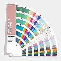 Pantone GG1507A metallic gecoate kleurgeleiding, meerkleurig