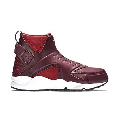 premium selection 673d7 6f2f9 Nike Women s W Air Huarache Run MID Black Bright Crimson 807313-600 (Size
