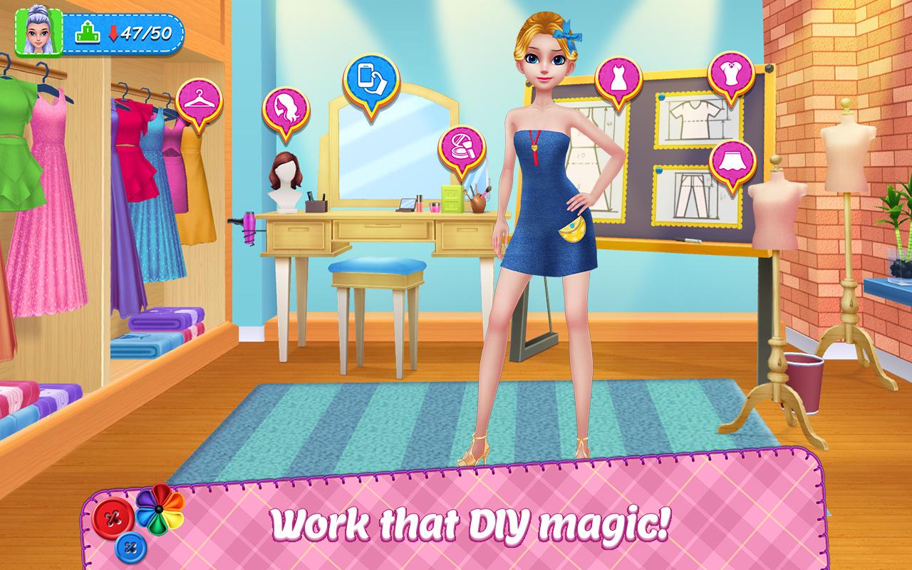 DIY Fashion Star - Design Hacks Clothing Game: Amazon.es ...