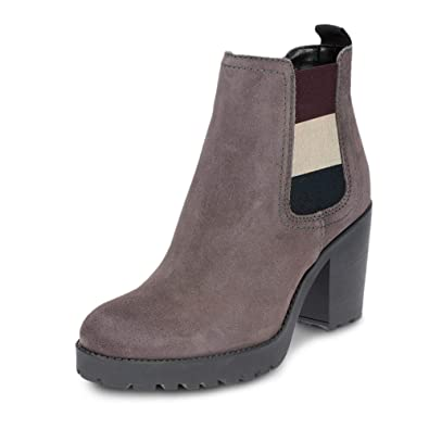 7d44abe89 Tommy Jeans Women s Boots Grey Size  4 UK  Amazon.co.uk  Shoes   Bags