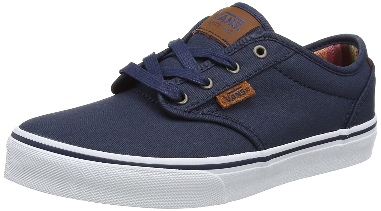 Vans Yt Atwood DX, Zapatillas para Niños, Azul (Waxed), 35 EU