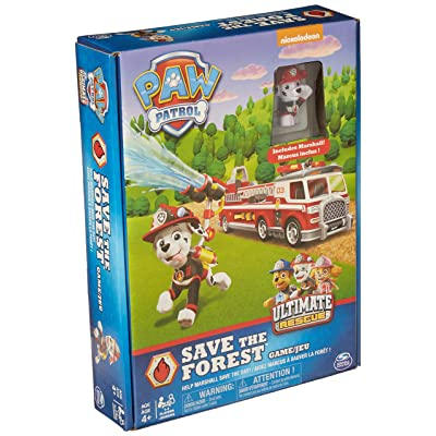 Spin Master Games PAW Patrol, Save The Forest, Family Board Game for Kids Aged 4 and Up, Multicolor (6045980): Toys & Games