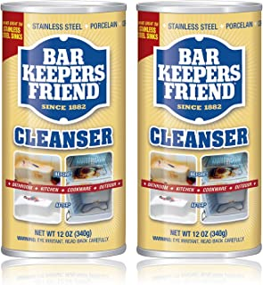 product image for Bar Keepers Friend Powdered Cleanser | 12-Ounces | 2-Pack