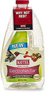 product image for Kaytee 100506148 Ready to Use Hummingbird ElectroNectar, 64 Ounces, Clear