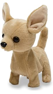 d864ddf3f3e Cuddle Barn Animated Plush Toy Dog Lola The Chihuahua Barks   Wags Tail