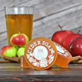 Cider Soap (Hard Cider) - All Natural + Made in USA - Actually Smells Good! Perfect Gift For Beer Lovers