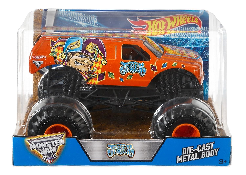 amazon com wheels monster jam jester truck toys u0026 games