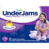 Pampers UnderJams Bedtime Underwear Girls Size Large/X-Large, 42 Count