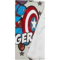 Cerdá 8427934395378 Toalla Microfibra Avengers, Multicolor, 70.0 X 140.0 X Cm Unisex niños